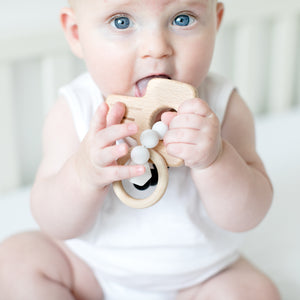 Key Wooden Teether