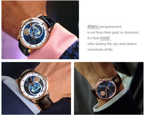 AGELOCER Brand Men's Swiss Luxury Waterproof Mechanical Automatic Watch w/a 80 Hour Power Reserve by Agelocer Watch Zombo