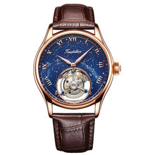 Load image into Gallery viewer, Guanqin/Tourbillon Men's 100% Top Brand Waterproof Sapphire Luxury Mechanical Clock Watch