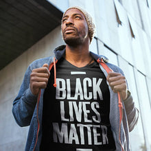 Load image into Gallery viewer, Black Lives Matter Short Sleeve Activist Movement T-Shirt by SANSDO