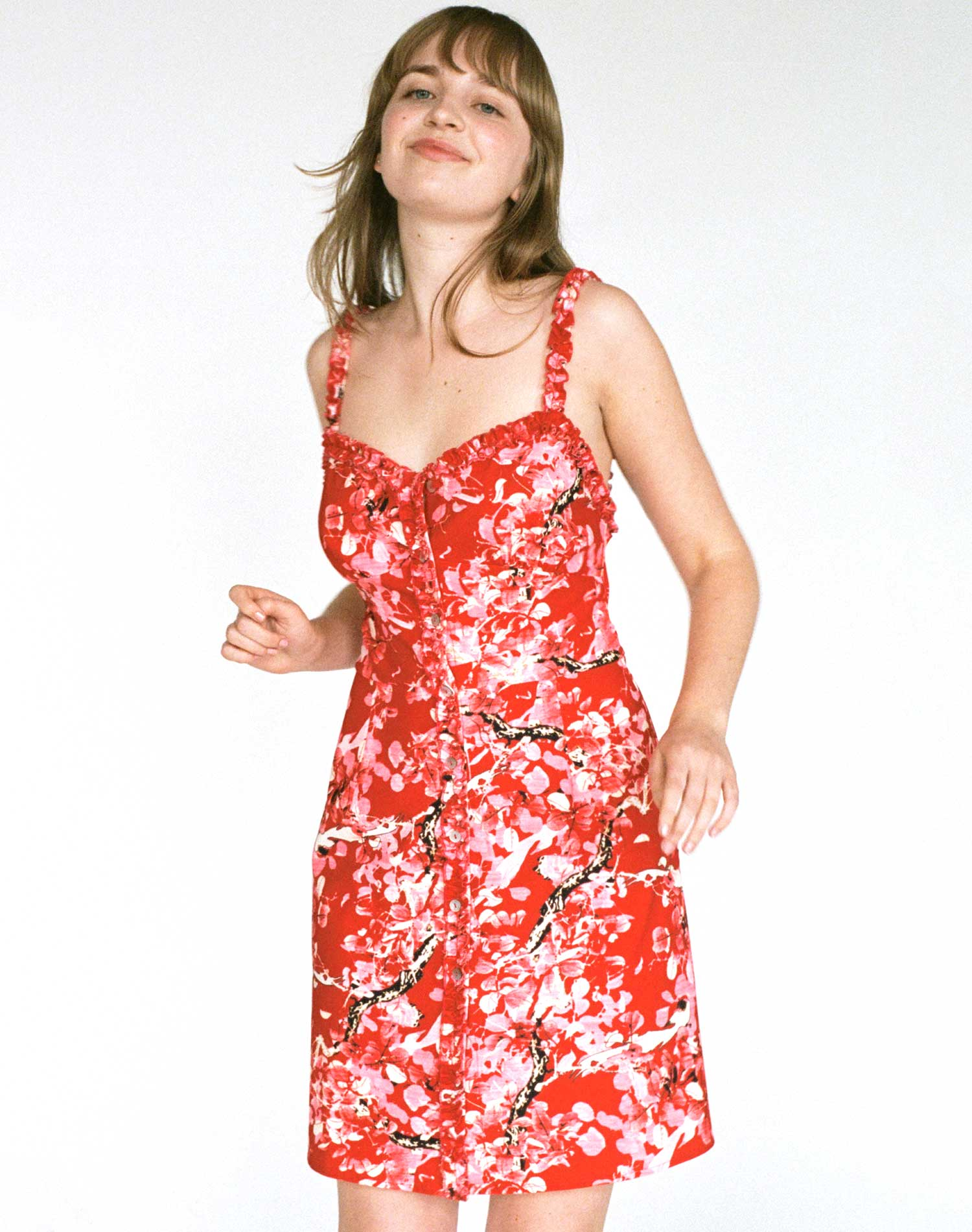 The Antheia Floral Dress