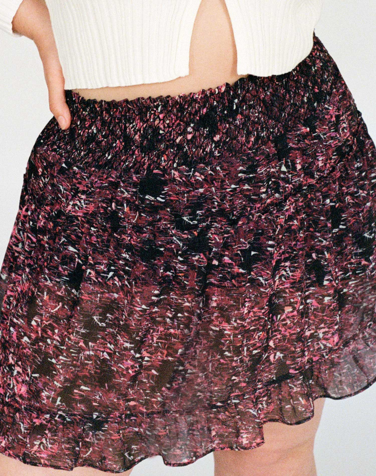 The Iris Cinch Waist Skirt