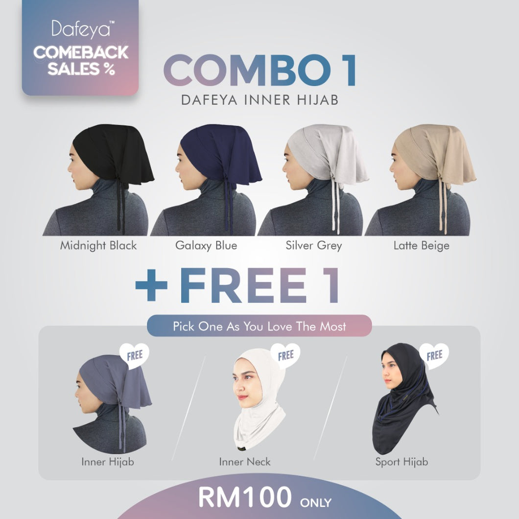 Combo 1 Dafeya Flair Tie Back + Free Shipping