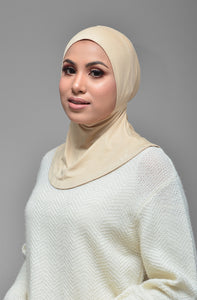 KAMILA INNERNECK in BEIGE + FREE GIFT DUSTY PURPLE