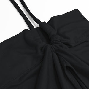 FLAIR INNER TIE-BACK - MIDNIGHT BLACK
