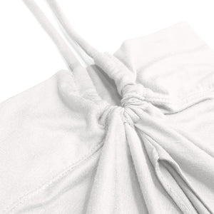 FLAIR INNER TIE-BACK - MILKY WHITE