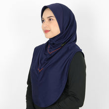 Load image into Gallery viewer, DAFEYA DYNA ACTIVE SPORT HIJAB - NAVY BLOOD