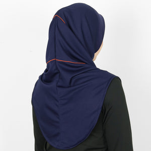DAFEYA DYNA ACTIVE SPORT HIJAB - NAVY BLOOD