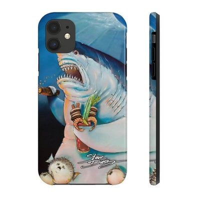 """Shark Father"" Tough Phone Cases for iPhone"