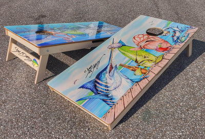 """Raw Bar"" Premium Cornhole Board (1 board)"