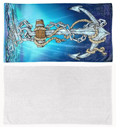 "COMING SOON! ""Anchors Aweigh"" Towel"