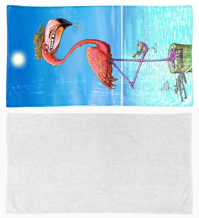 "COMING SOON! ""Dirty Flamingo"" Towel"
