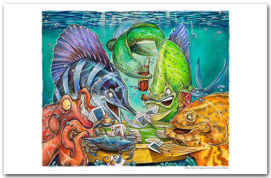 """Poker Fish"" Series Shop by Design - Steve Diossy Marine ..."