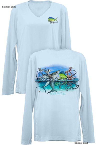 Board Meeting- Ladies Long Sleeve V-Neck-100% Polyester