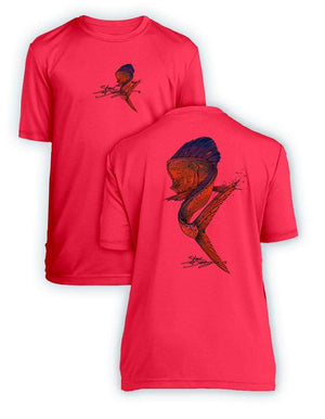 NEW! Mahi Swim- KIDS Short Sleeve Performance - 100% Polyester