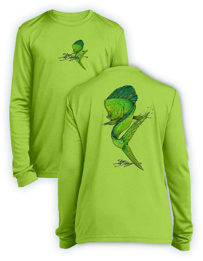 NEW! Mahi Swim- KIDS Long Sleeve Performance - 100% Polyester