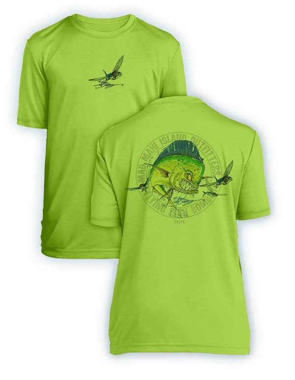 Mad Mahi- KIDS Short Sleeve Performance - 100% Polyester