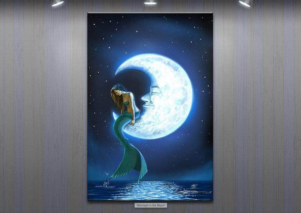 """Mermaid In The Moon"" Final Color Version"