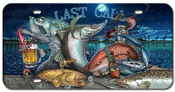"""Last Call"" Front License Plate"