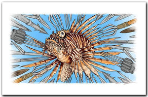 """Lionfish Wanted"""
