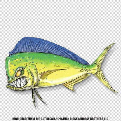 Mad-Mahi solo (Die-Cut Decal)