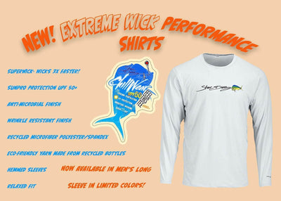 """Raw Bar"" Men's Extreme Wick Long Sleeve Performance Shirt ᴜᴘꜰ-ᴛᴇᴇ"