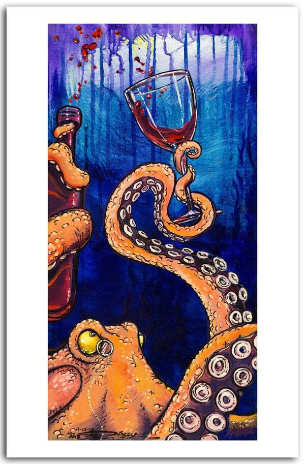 """Octopus The Connoisseur"""