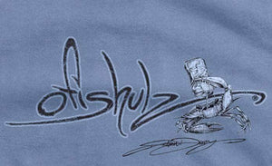 Ofishulz Signature Crabeer (denim shirt) 100% combed ringspun cotton (SMALL, MED only)