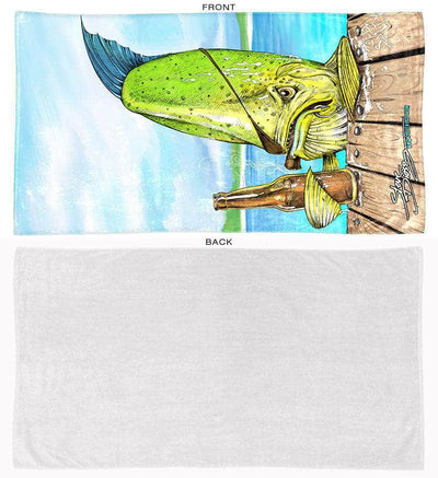 "New! ""Old Salty"" Towel"