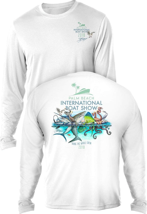 "PBIBS 2018 ""Board Meeting""  - UV Sun Protection Shirt - 100% Polyester - Long Sleeve UPF 30"