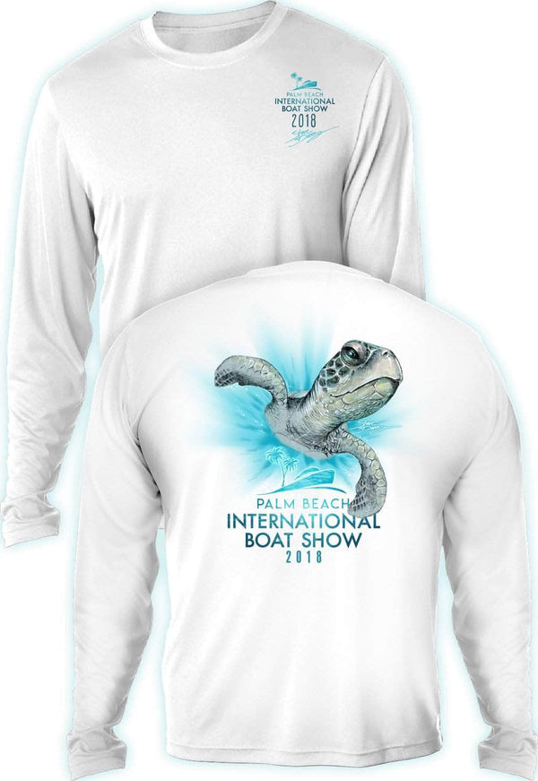 "PBIBS 2018 ""Turtle Zoom""  - UV Sun Protection Shirt - 100% Polyester - Long Sleeve UPF 30"