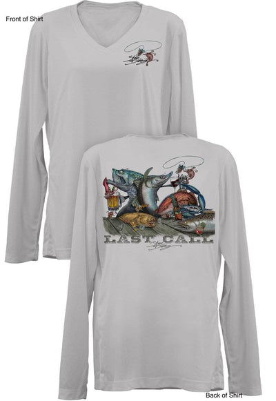 Last Call- Ladies Long Sleeve V-Neck-100% Polyester