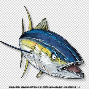 Mad Tuna (Die-Cut Decal)