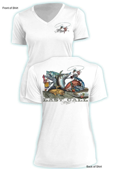 Last Call- Ladies Short Sleeve V-Neck-100% Polyester