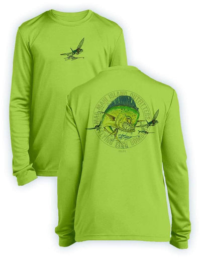Mad Mahi- KIDS Long Sleeve Performance - 100% Polyester