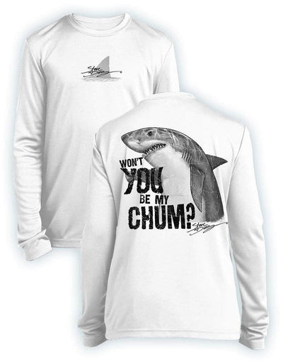 Shark Chum- KIDS Long Sleeve Performance - 100% Polyester