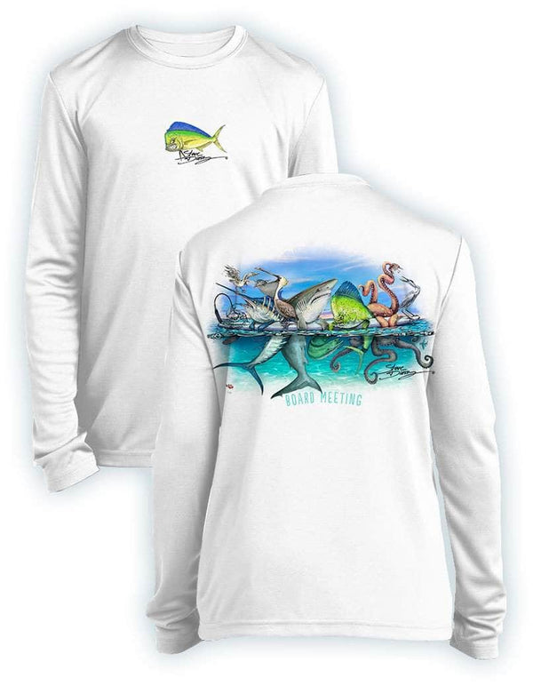 Board Meeting- KIDS Long Sleeve Performance - 100% Polyester