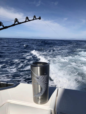"COMING SOON ""Bait Baller Marlin"" Stainless Steel Tervis Tumbler"