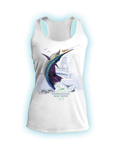 2019 Official PBIBS Ladies Tank Top- 100% Poly Performance