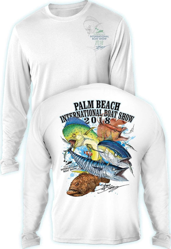 Grand Slam- Palm Beach Intl Boat Show-100% Polyester - Long Sleeve UPF 30