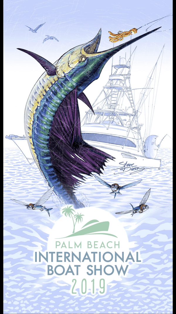 Official 2019 PBIBS Beach Towel