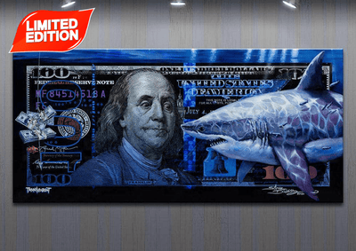 "NEW! ""Shark Tank"" collaboration with Josh Leidolf (AKA TRAN$PARENT Artist)"