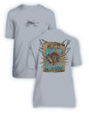 Lionfish Wanted Poster- KIDS Short Sleeve Performance - 100% Polyester