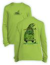 NEW! Shark Bus- KIDS Long Sleeve Performance - 100% Polyester