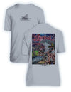 NEW! Sharky's Diner- KIDS Short Sleeve Performance - 100% Polyester