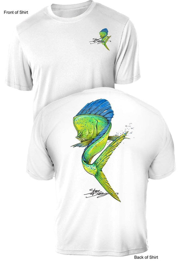 NEW! Mahi Swim- UV Sun Protection Shirt - 100% Polyester - Short Sleeve UPF 50