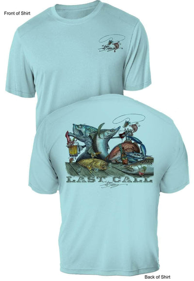 Last Call- UV Sun Protection Shirt - 100% Polyester - Short Sleeve UPF 50