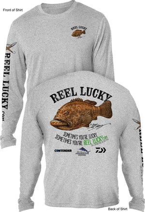 REEL LUCKY GG- UV - L O N G Sleeve - CustomPPOLY