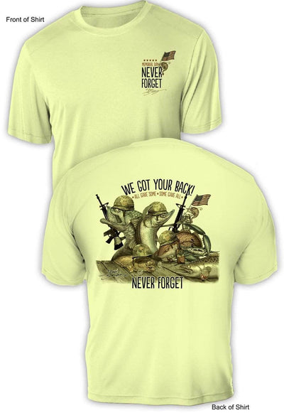 "Memorial Day ""Last Call""- UV Sun Protection Shirt - 100% Polyester - Short Sleeve UPF 50"