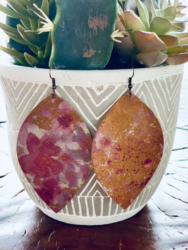 Peach in Bloom Earrings